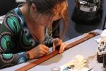 Dukes Finest Vintage Artisan - handpainted belt